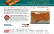 Oakwood Veneer Announces Its All-New Web Site