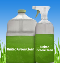 united green clean logo