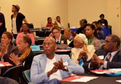 George Harris invites Fulton County Health Summit participants in Atlanta to support the Pigford III petition.