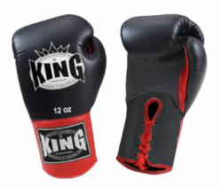 King Boxing Gloves, dual-color boxing gloves, King Professional, laceup boxing gloves