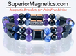 Gemstone Magnetic Bracelet Relieves Arthritis Pain Announced Pain Free...