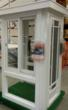 A Venetian Builders, Inc., custom-made sales display for Home Depot. The displays open to display 8 running feet of design and materials options, including windows, doors, framing, panels and screens.