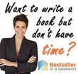 Bestseller in a Weekend Webinar to be Held October 18 to 20, 2013
