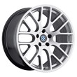 BMW Wheels by Beyern - the Spartan in Silver