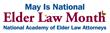 NAELA Celebrates National Elder Law Month in May