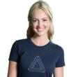 photo of geeky t-shirt optical illusion Devil's Triangle from t-shirt company Tees For Your Head