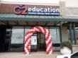 The newest C2 Education center, all decked out for a wonderful Grand Opening celebration!