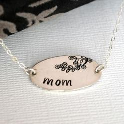 Flowering Branch Mom Necklace by DesignMe Jewelry