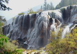 Sichuan Jiuzhaigou Landscape