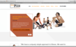 Welcome page lets new customers sign up for their introductory offer - 5 classes for $50!