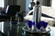 Cobalt Blue Chase Martini Set
