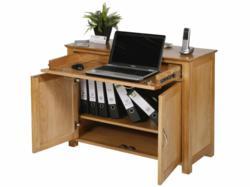 The Utah Oak Cupboard Desk
