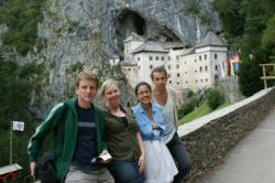 Adventures in Preservation experiential travel takes team to Predjama castle