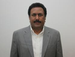 Center Director Srinivas Raju