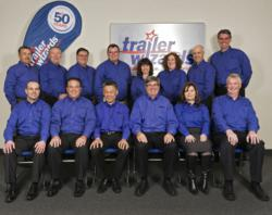 Trailer Wizards' executive team celebrates their 50th Anniversary.