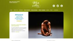 Custom Wordpress Site for Wax Spa and Clients by Absolute Web Services