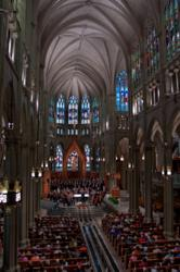 The Kentucky Symphony Orchestra and KSO Chorale in performance at St. Mary's Cathedral Basilica of the Assumption in Covington, KY