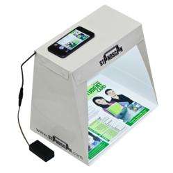 Mobile document scanning accessory for smartphones