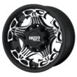 Moto Metal Skull Black Wheels