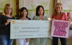 Seton Breast Cancer Center Donation