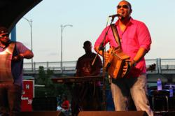 A photo of zydeco artist Chris Ardoin