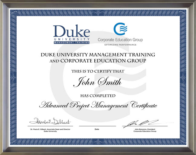 Duke University and Corporate Education Group Expand ...
