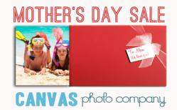 Mother's Day canvas print deal