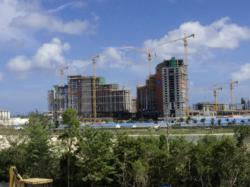 Baha Mar, scheduled to open late 2014, will be one of the Bahamas' largest luxury resorts.