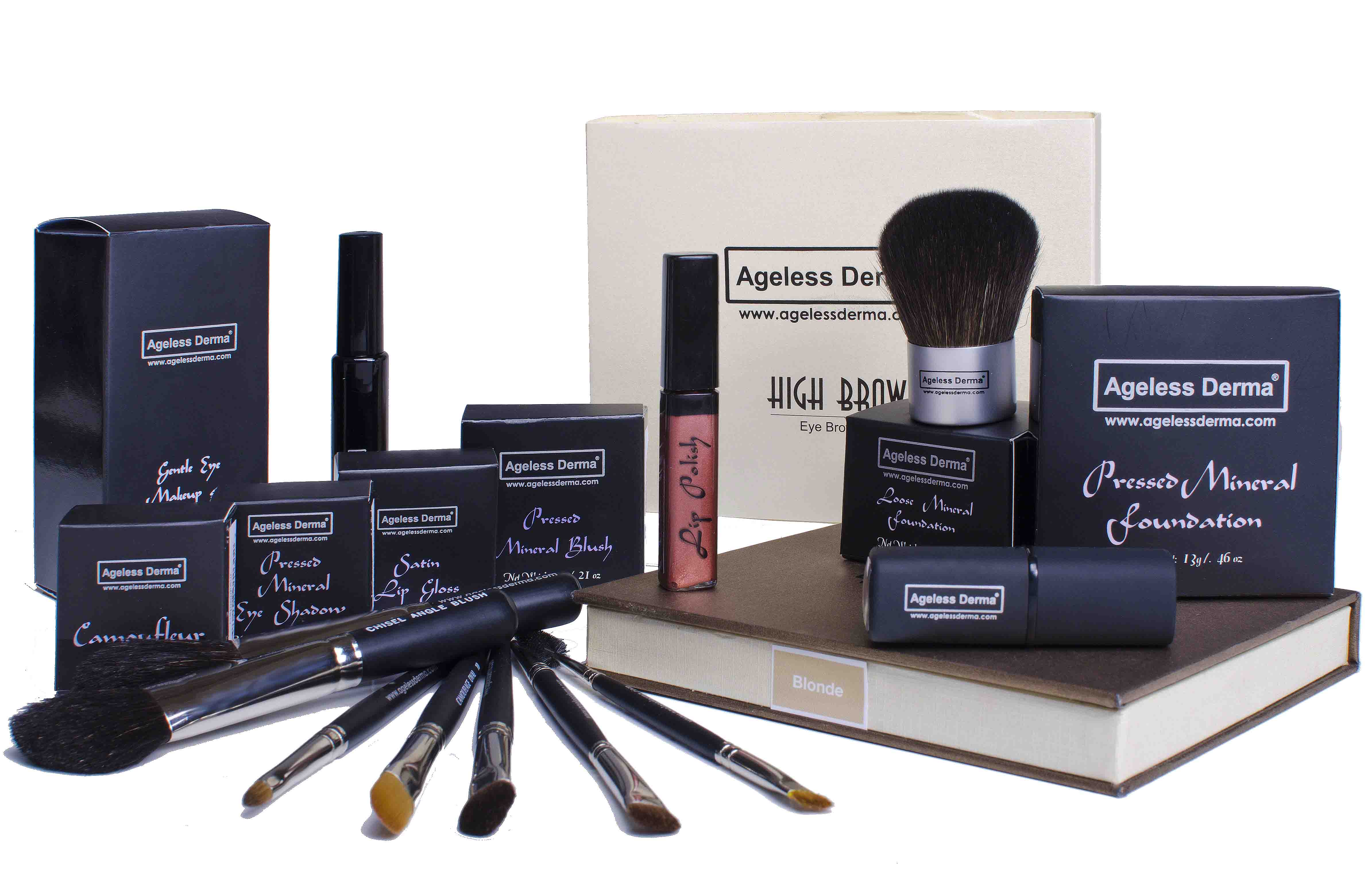 Ageless Derma Launches Their Latest Mineral Makeup Line ...