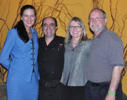 Dr. Alison Laidley, Chef Gorji, Kathy & Gary Gilstrap