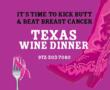 Texas Wine Dinner to Beat Breast Cancer