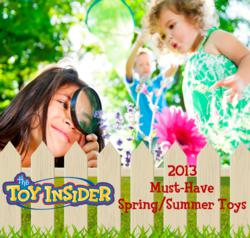The Toy Insider Cover Spring 2013