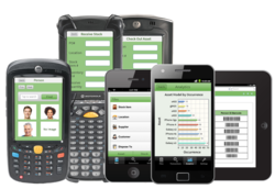 Passport Inventory Mobile app on Smartphones such as iPhone, iPad, tablets, Android devices and Motorola Barcode Scanners