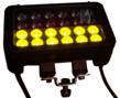 Amber Light Output on the Magnalight LEDLB-24E-VISAMBER