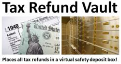 Tax Refund Vault - logo
