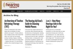 San Antonio Hearing Centers Blog