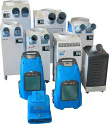 Portable Rental Solutions - Spot Coolers & Dehumidifiers