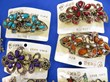 wholesale retro gemstone hair barrettes, hair accessories, headwear, hair band