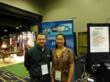 This is a picture of Ella Delio and Brian Gabriel at GrowCo 2013 as part of Sound Telecom's Entrepreneurship Series. Sound Telecom is a nationwide provider of outsourced telephone answering services, contact center solutions and cloud-base