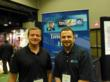 This is a picture of Matt Borjes and Brian Gabriel at GrowCo 2013 sponsored by Sound Telecom at leading provider of bilingual telephone answering services, telemarketing and business voicemail services.