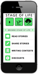Mobile Storytelling Website
