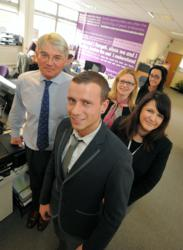Andrew Mitchell Meets Aspire People Apprentices