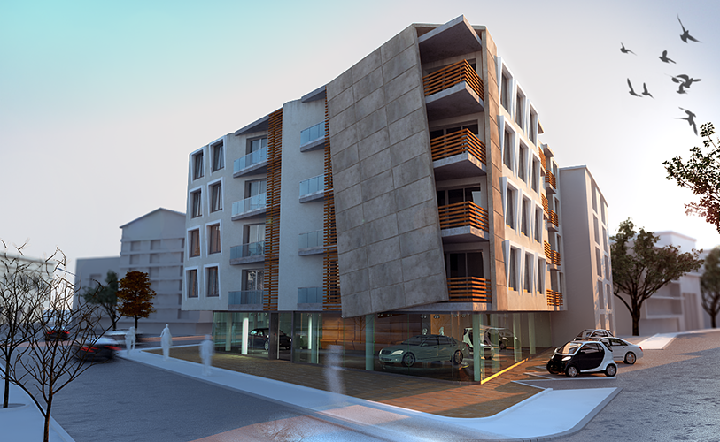 Apartment Design Architecture Exterior