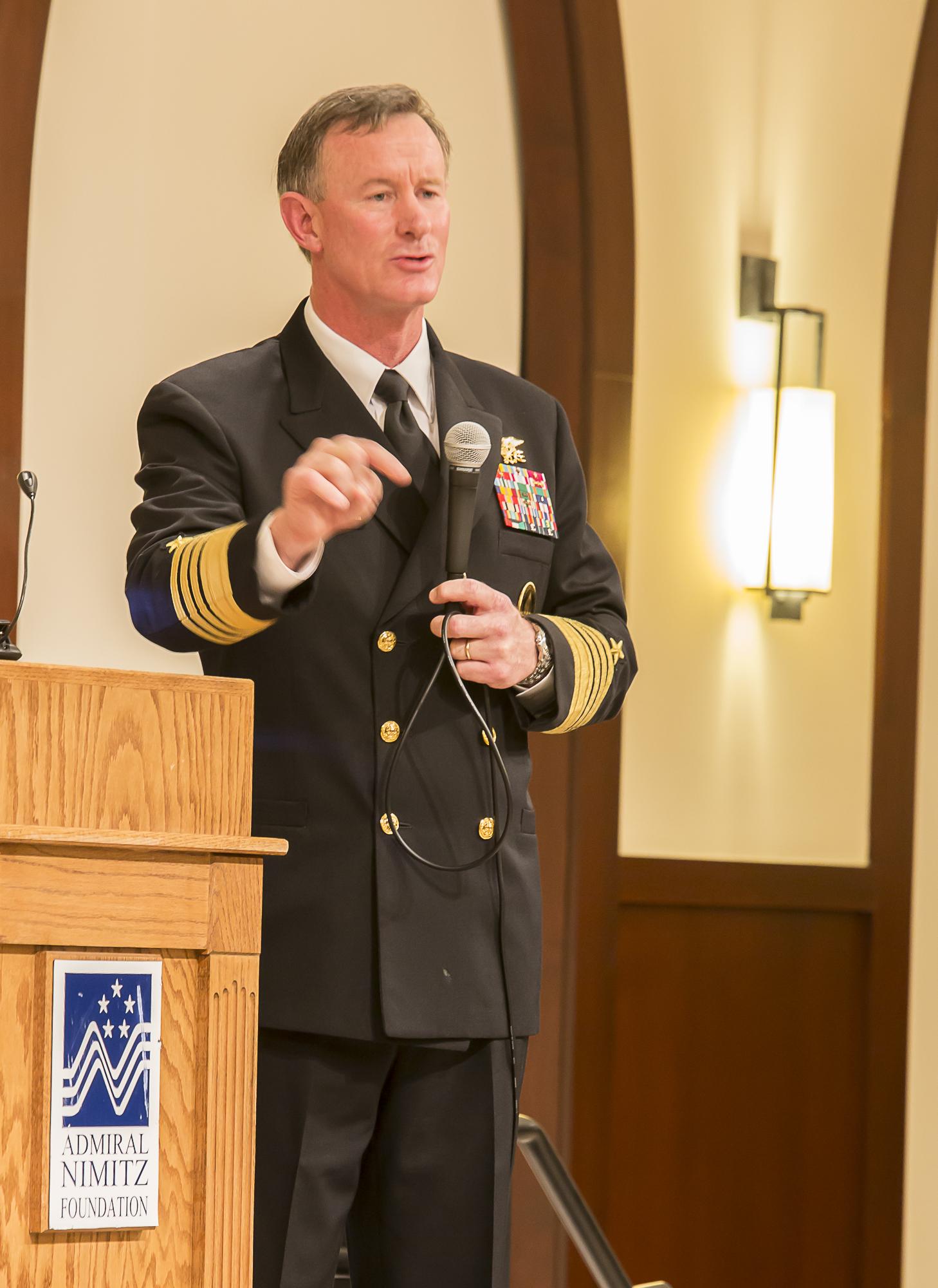 admiral bill mcraven delivers a power speech of texas