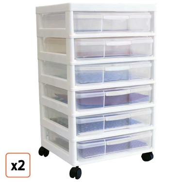 JustPlasticBoxescom Adds Over Product Videos On Website As A - Craft organizer cart on wheels