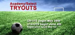 Soccer Tryouts Dawsonville