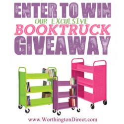 Worthington Direct Book Truck Giveaway Sweepstakes