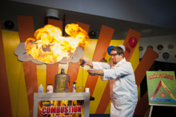 Combustion is the Theme for the 8th Annual Physics Week at Space Center Houston