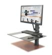 New Standing Workstation is Easy Fit in the Office