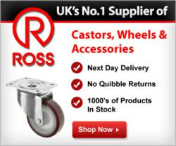 Castors, Wheels & Accessories from Ross Castors